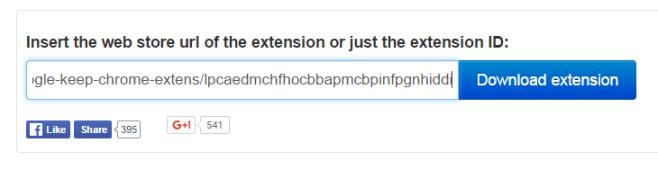 Chrome Extension Downloader