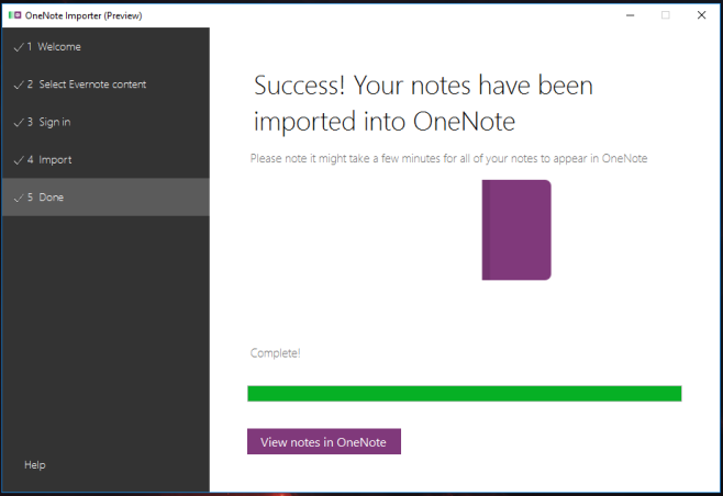 Evernote to OneNote-2