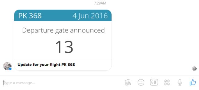 app in air departure