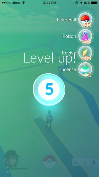 pokemon level 5