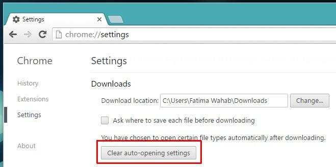 clear-auto-open-settings-chrome