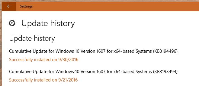 update KB3194496