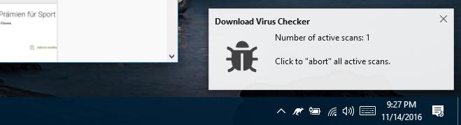 Download Virus Checker-scans