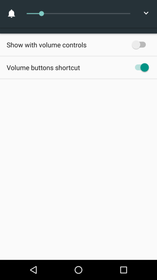 android-volume