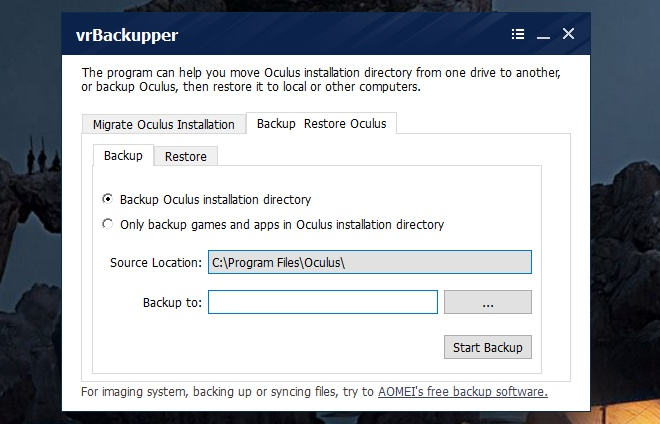 vrbackupper-backup-restore