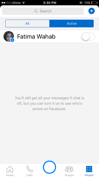 messenger-active-disable