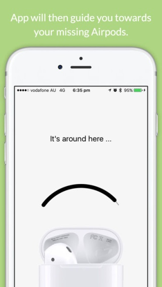 Finder for Airpods-close