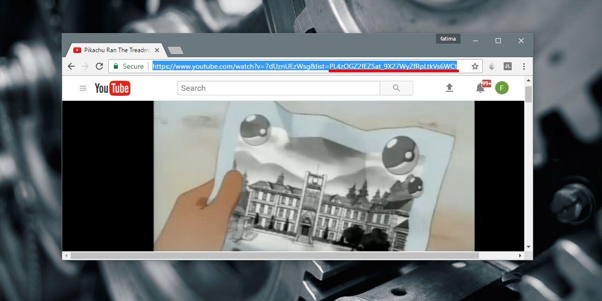youtube playlist ID URL