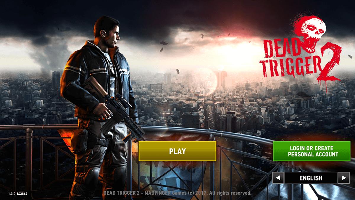 Dead Trigger 2 Launch Screen