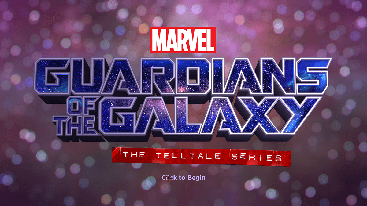 Guardians of the Galaxy Launch Screen