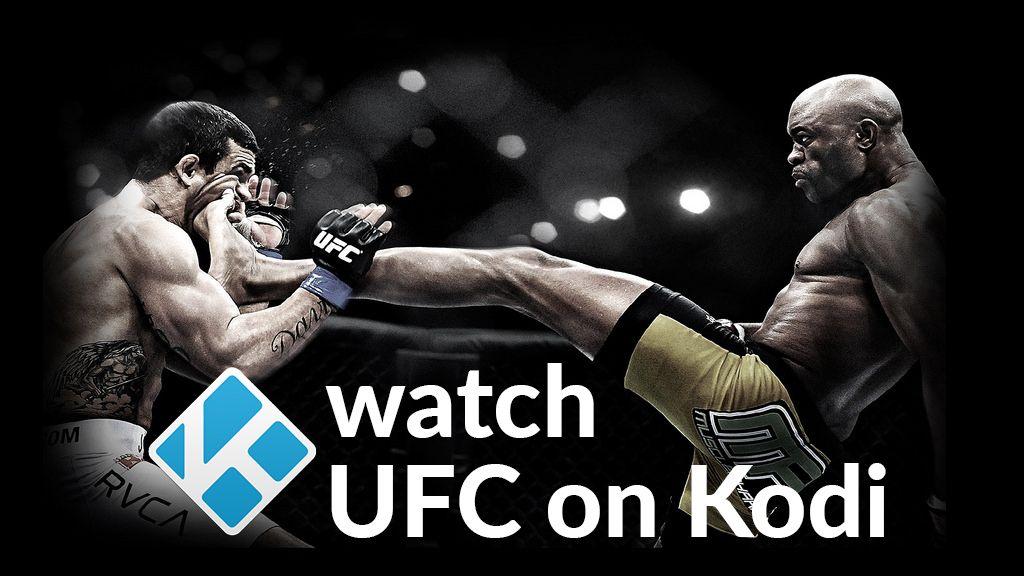 Watch UFC on Kodi – Best Add-ons