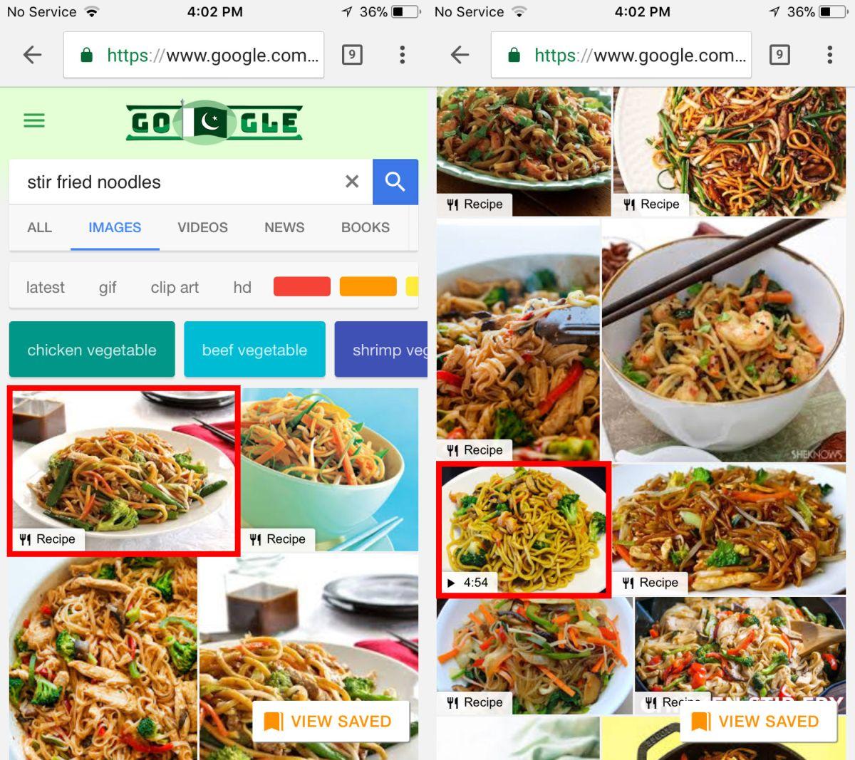 google images recipes