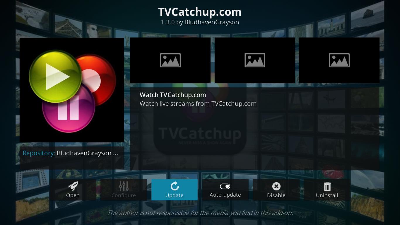 TVCatchup Update