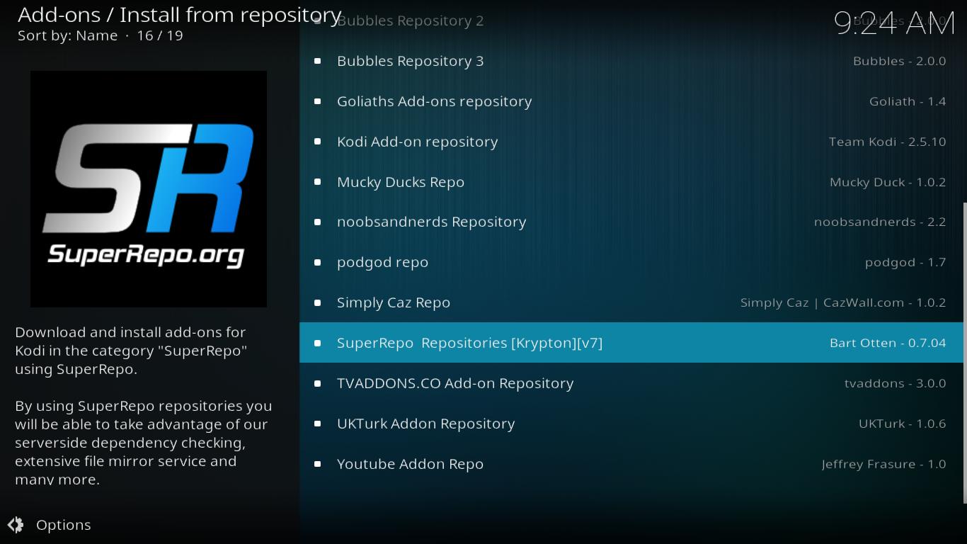 SuperRepo Repositories