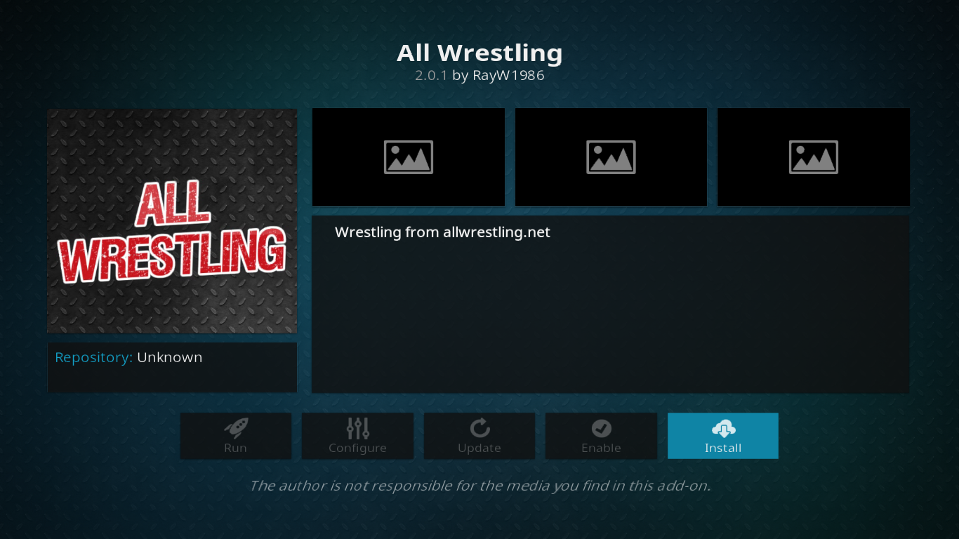 All Wrestling Dialog