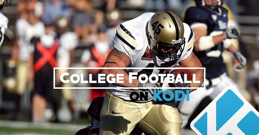 College Football on Kodi: Best Add-ons for Live Streaming the 2021 Season
