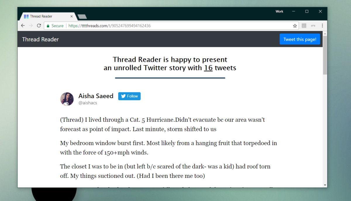 unrolled twitter thread