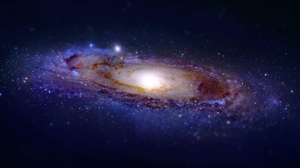 Andromeda Galaxy Tilt-Shift
