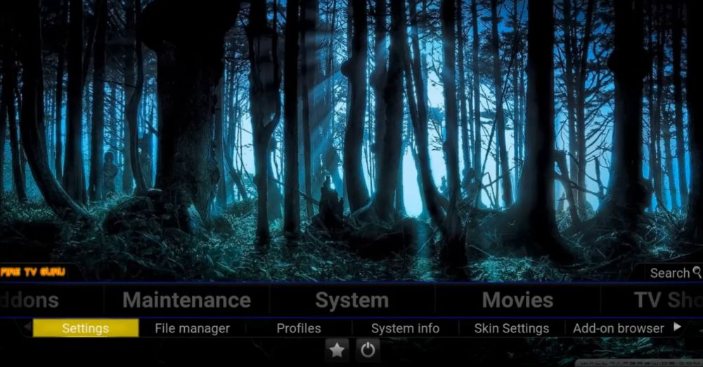 FireTV Guru Build for Kodi