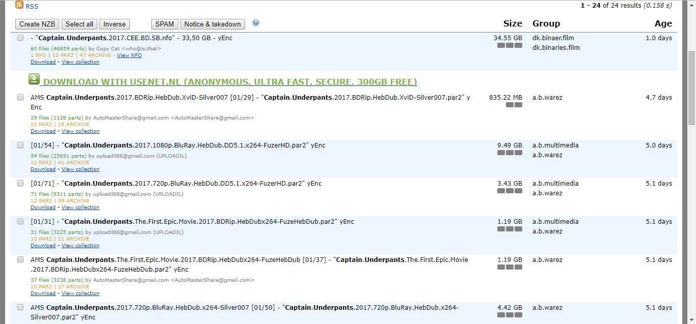 Nzbindex Search Results