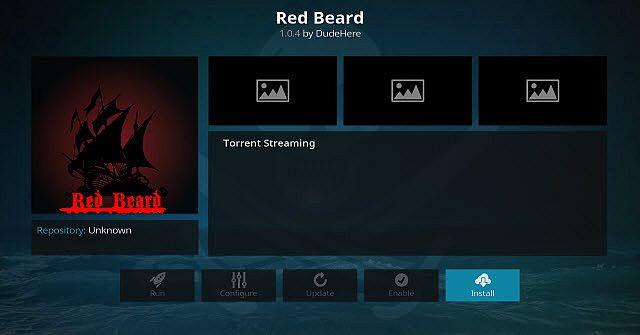 Red Beard kodi 17.5 addon