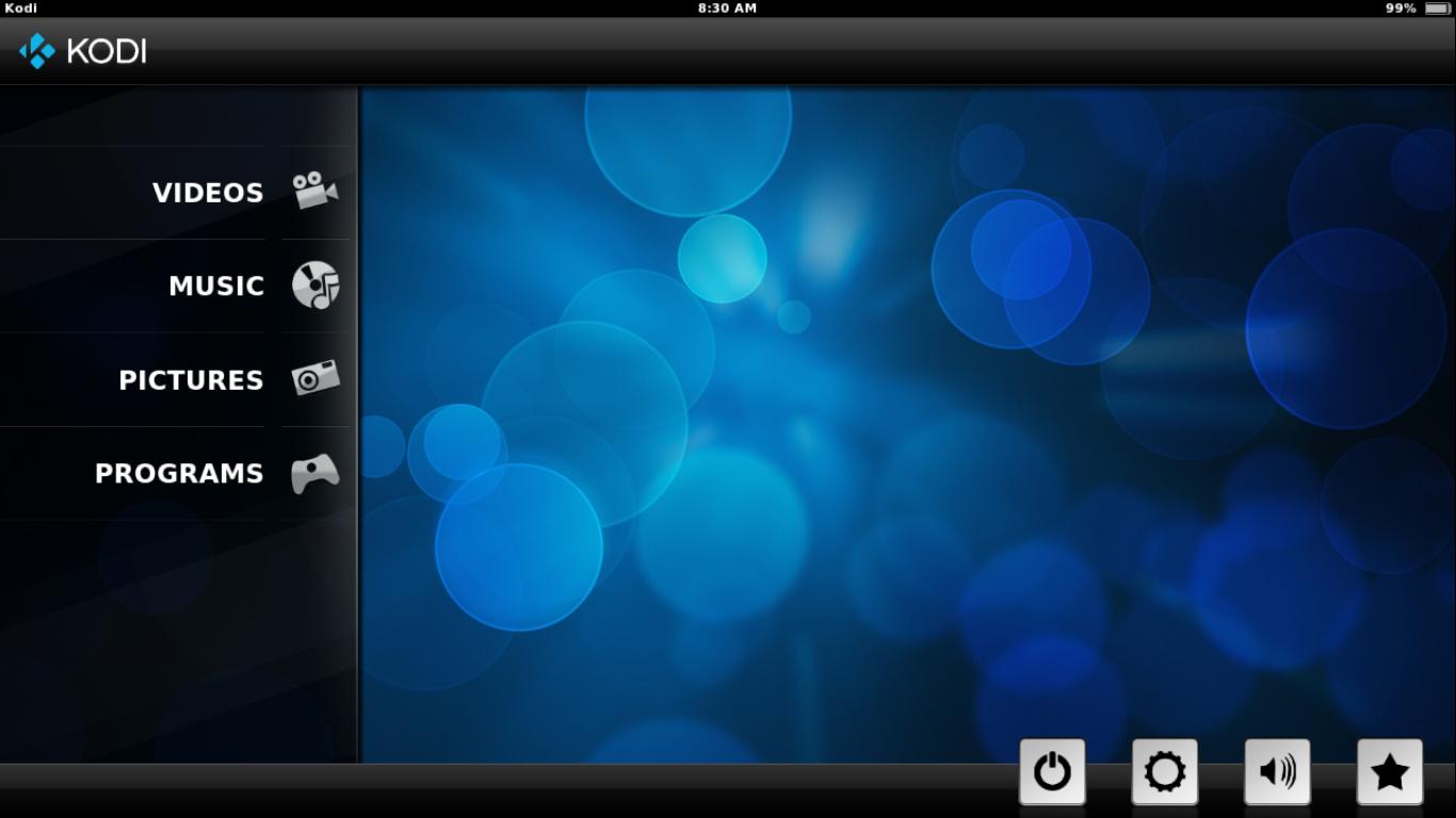 SPMC Home Screen