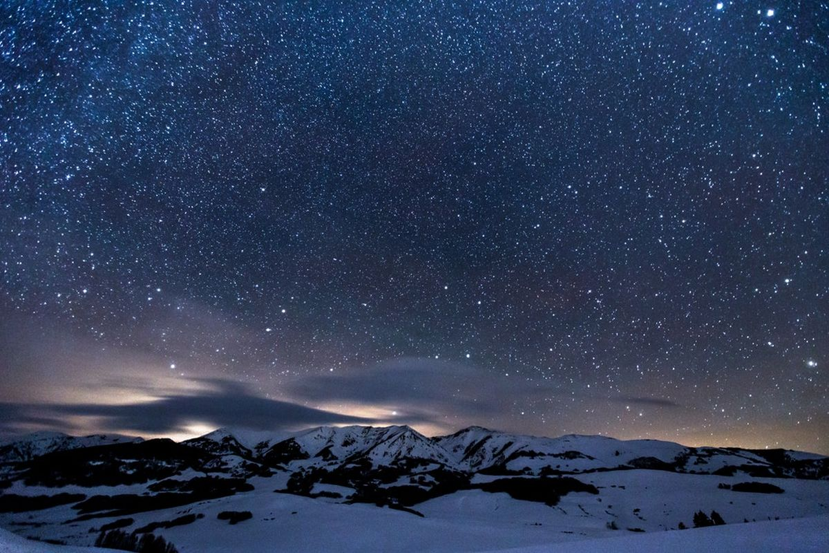 Star-sprinkled Mountains