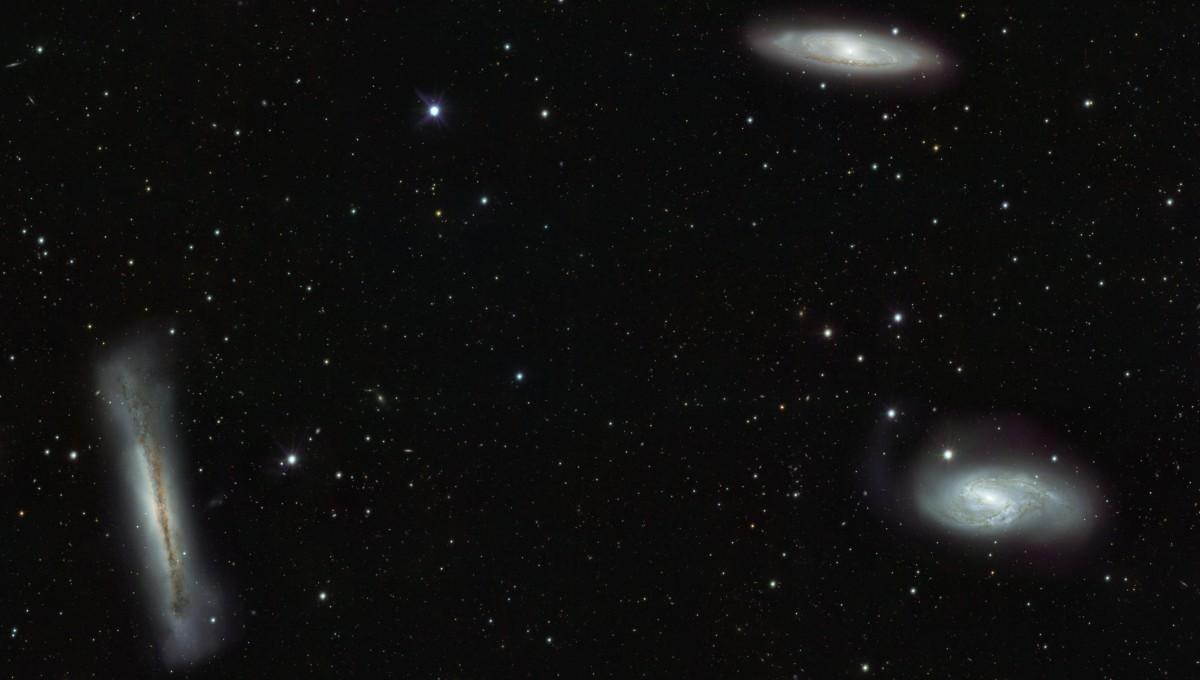 The Leo Triplet Galaxies