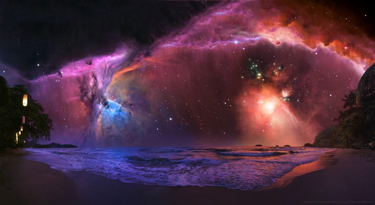 Vacation In Andromeda Galaxy