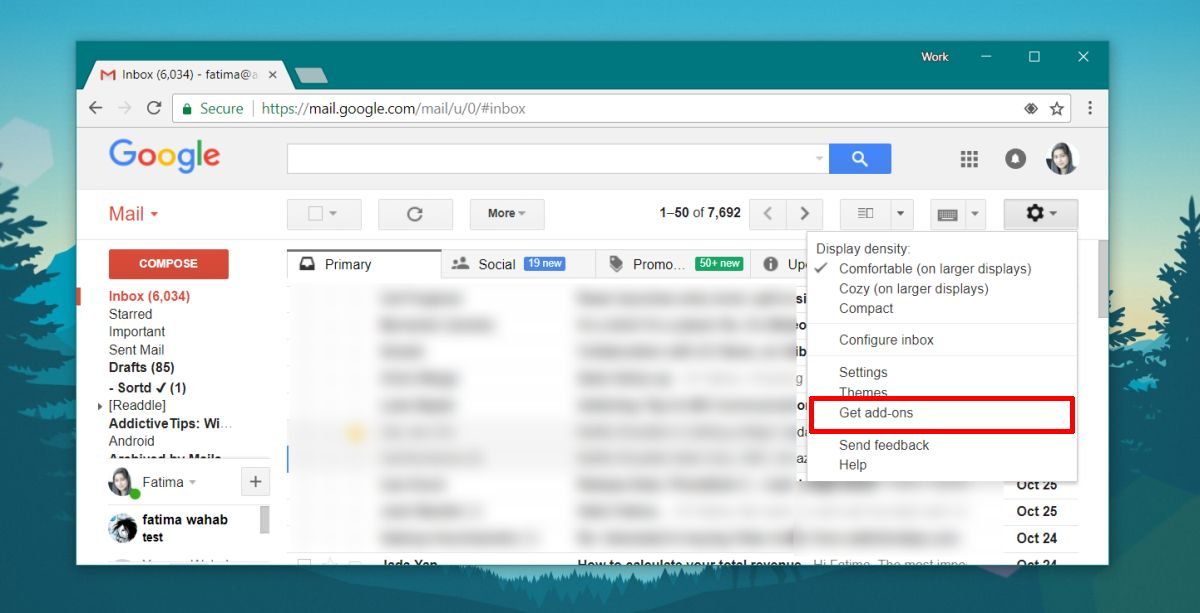 gmail get add-ons