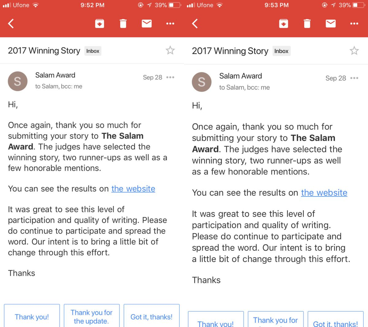 gmail large text