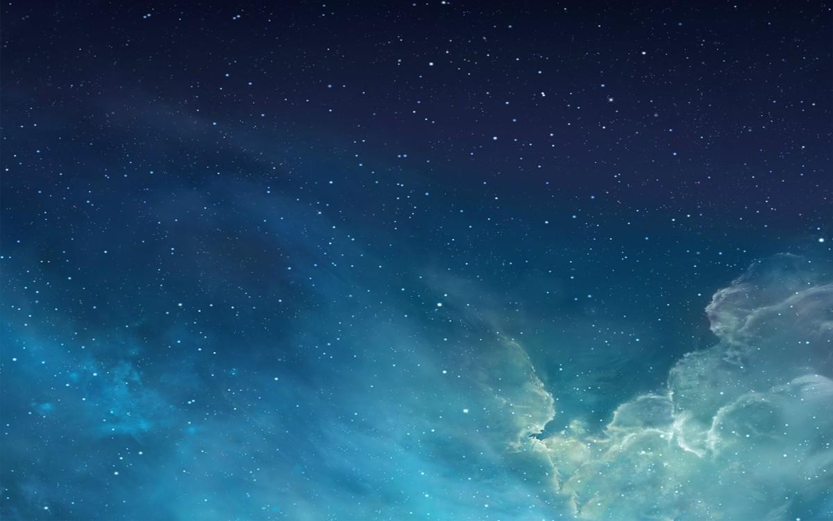iOS 7 Galaxy Wallpaper
