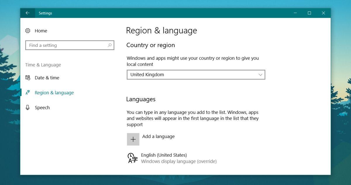 windows input language