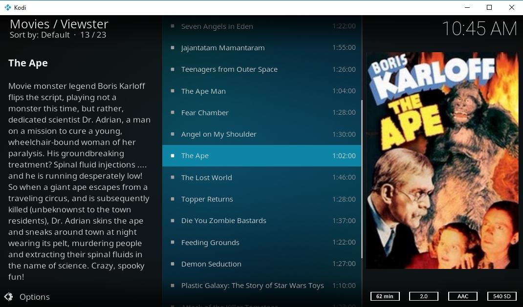1080p Kodi Add-ons - Viewster