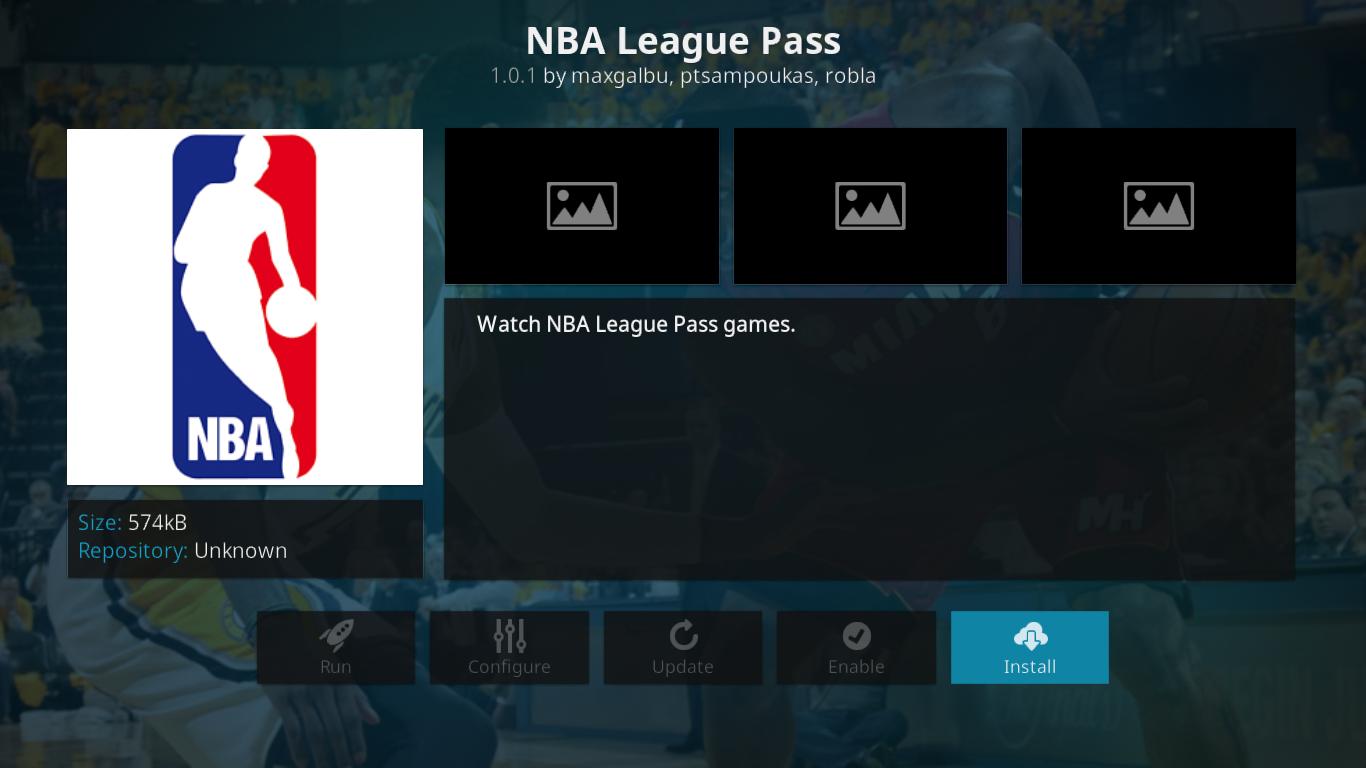 Choose NBA League Pass