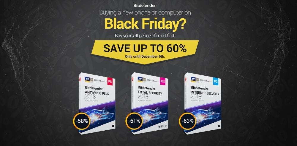Black Friday - Bitdefender deals