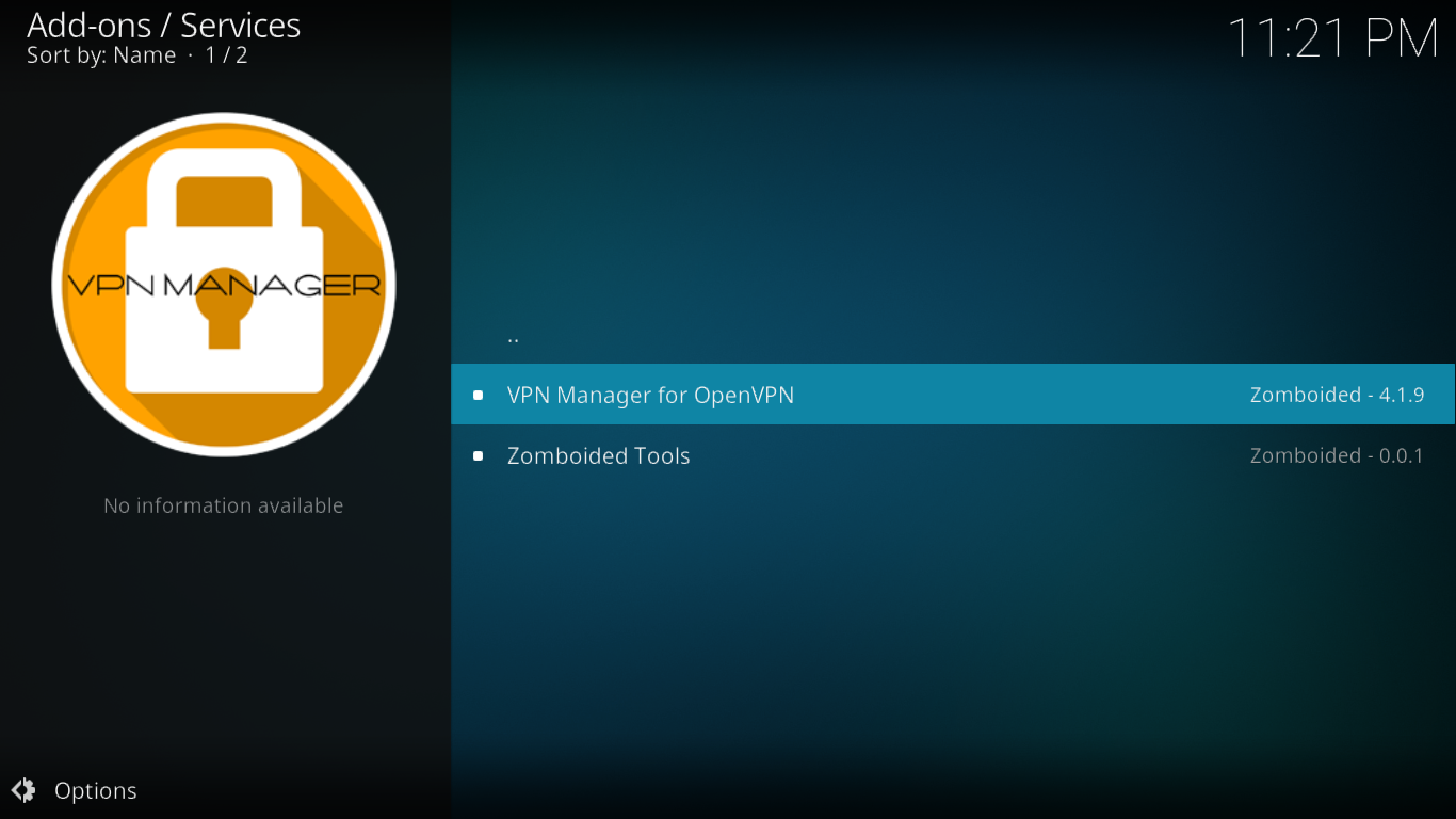 Click VPN Manager
