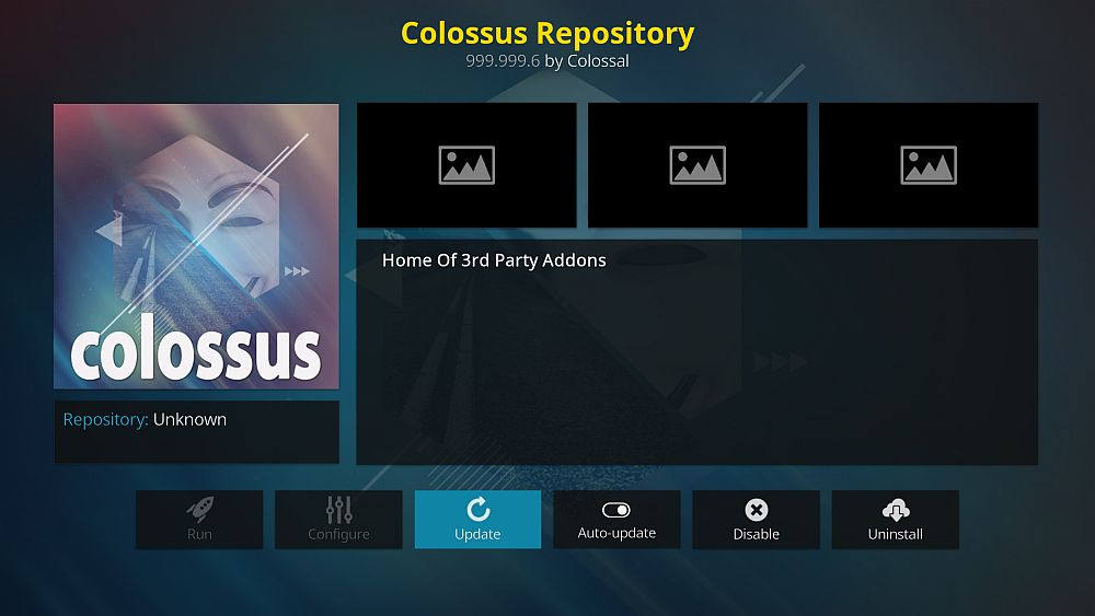 Colossus add-on repository