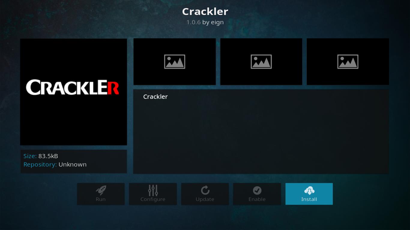 Crackler Add-on Info