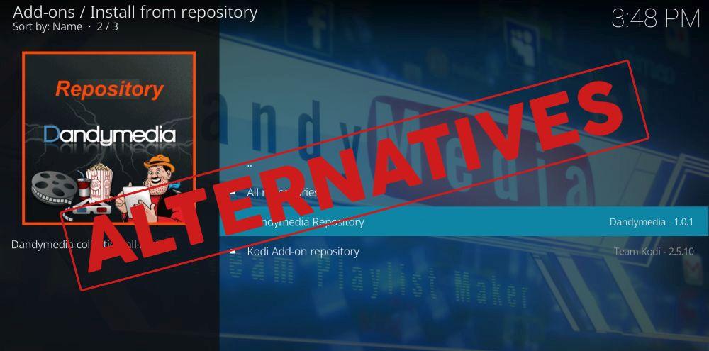 Dandy Media repository alternatives