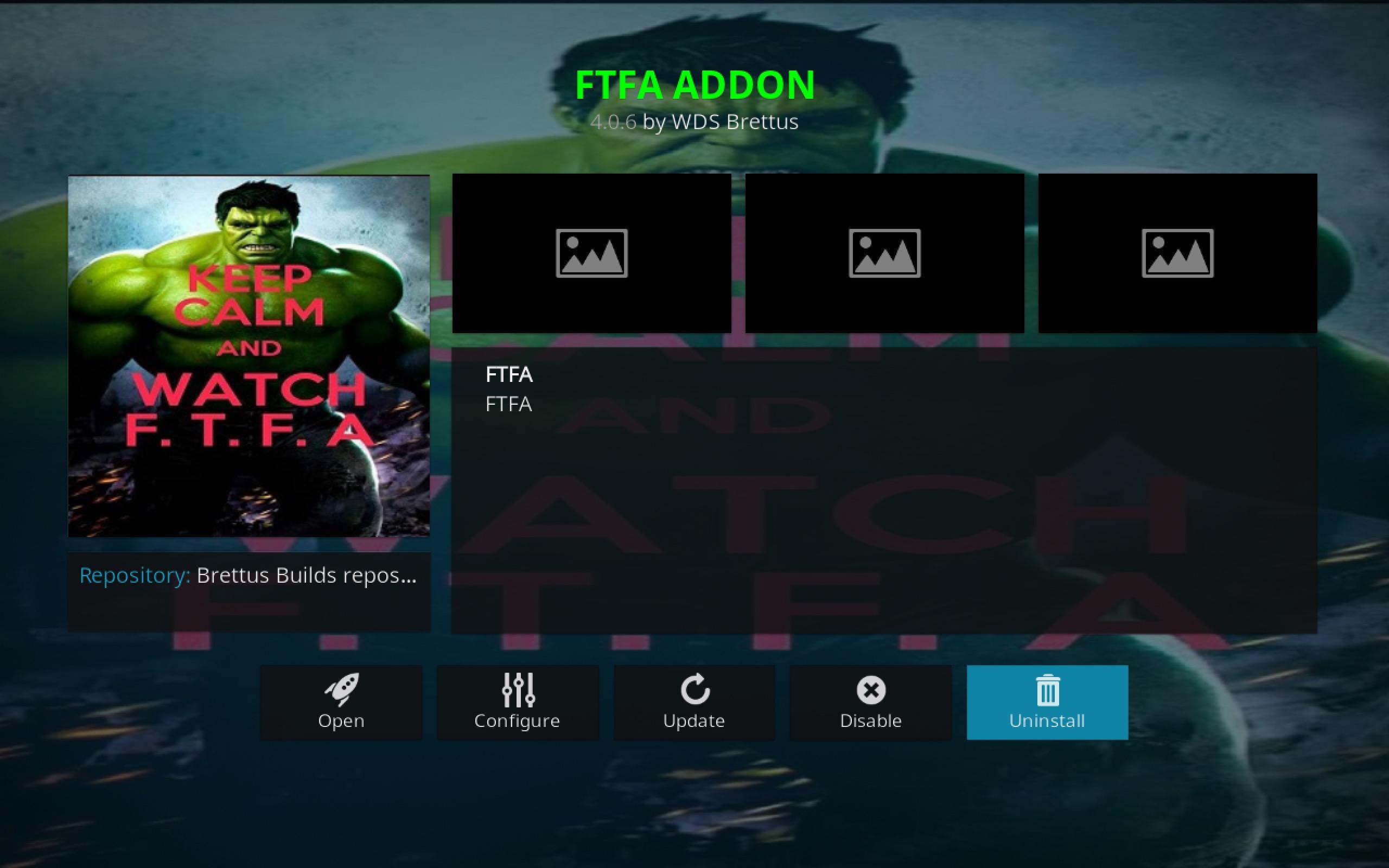 FTFA Add-on info