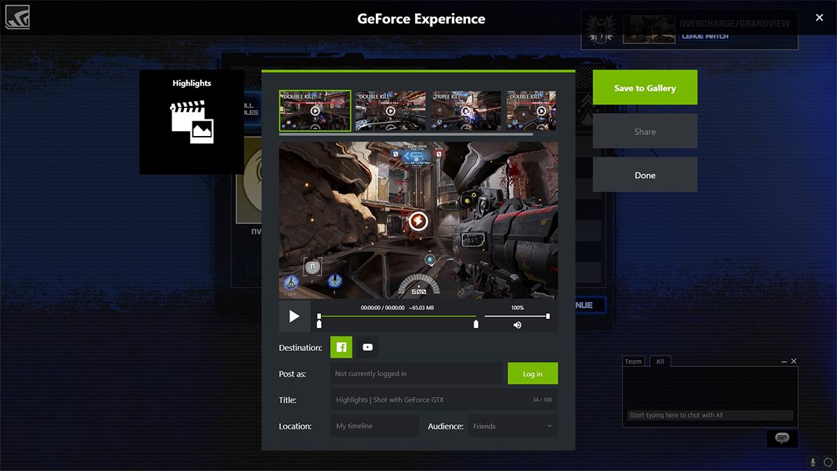 GeForce Experience