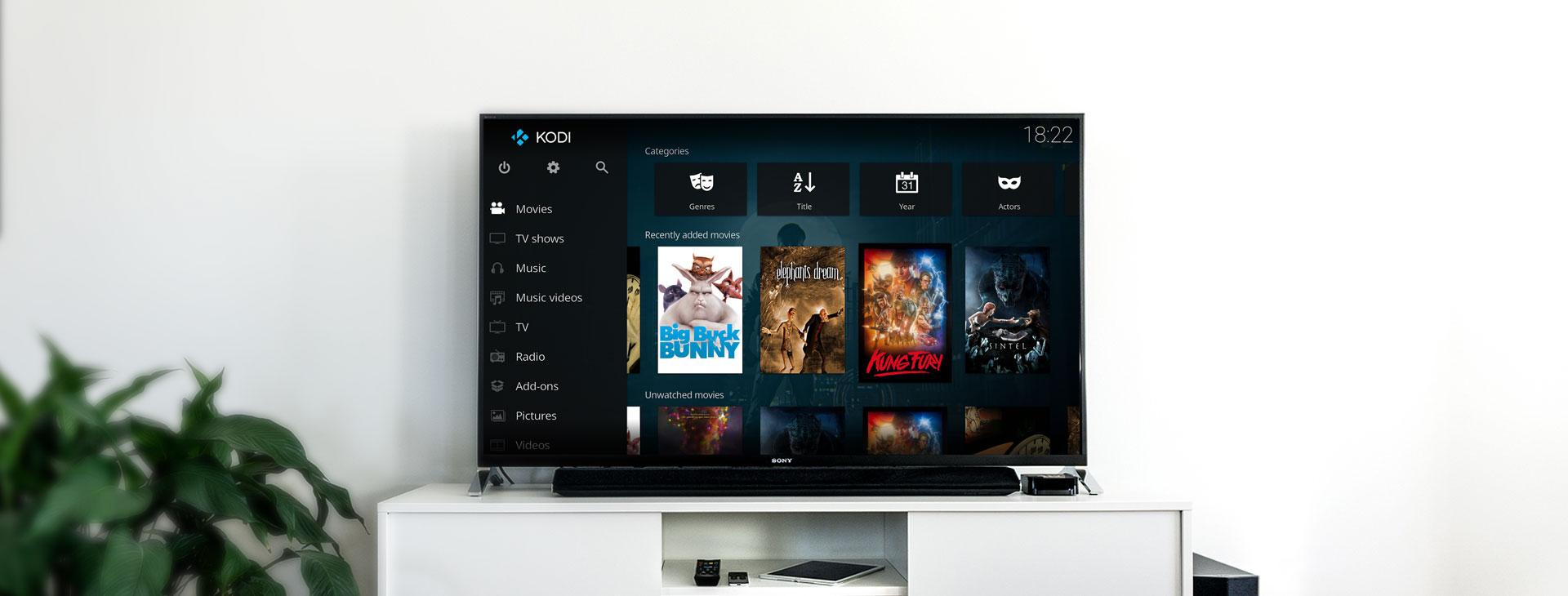 Kodi on a Smart TV
