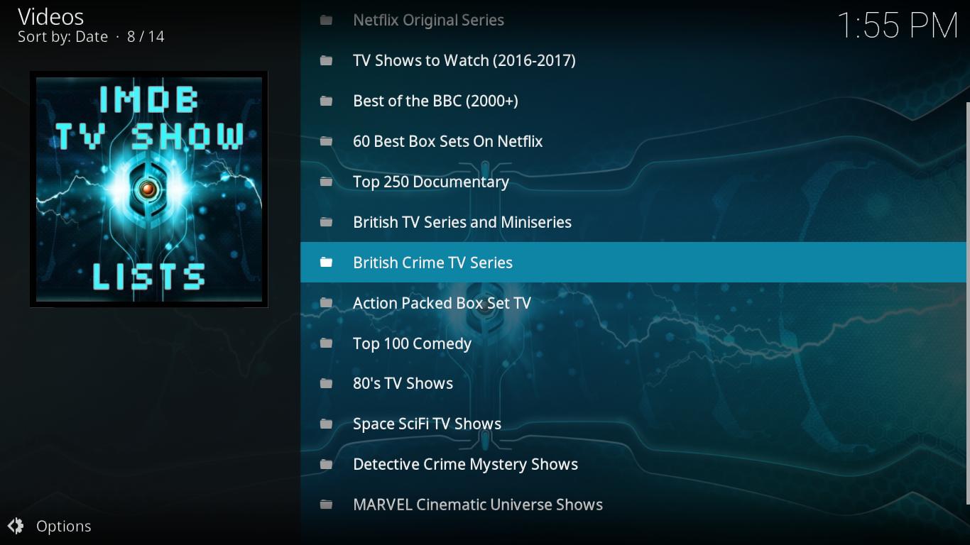 MYRIAD IMDB TV Playlist
