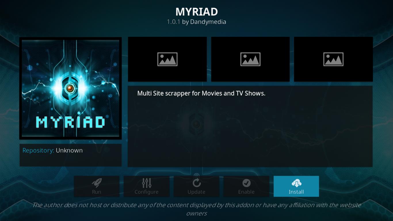 MYRIAD Information