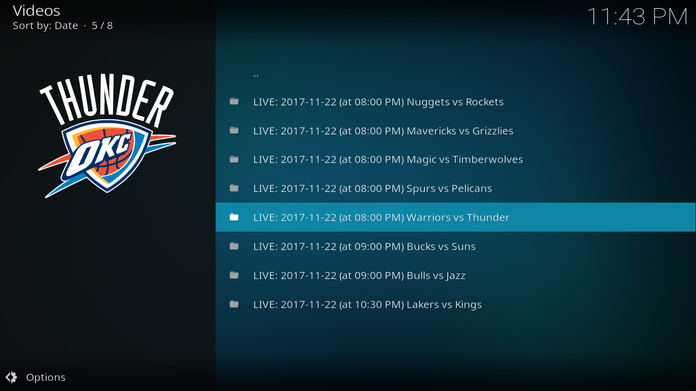 NBA League Pass Live Games