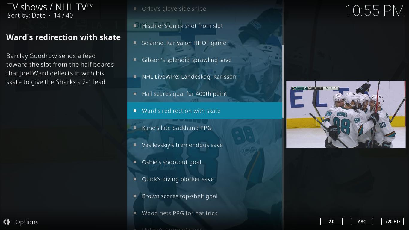 NHL TV Most Popular