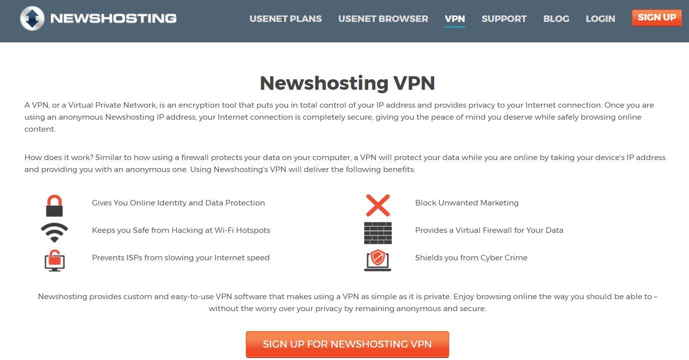 Newhosting VPN – best