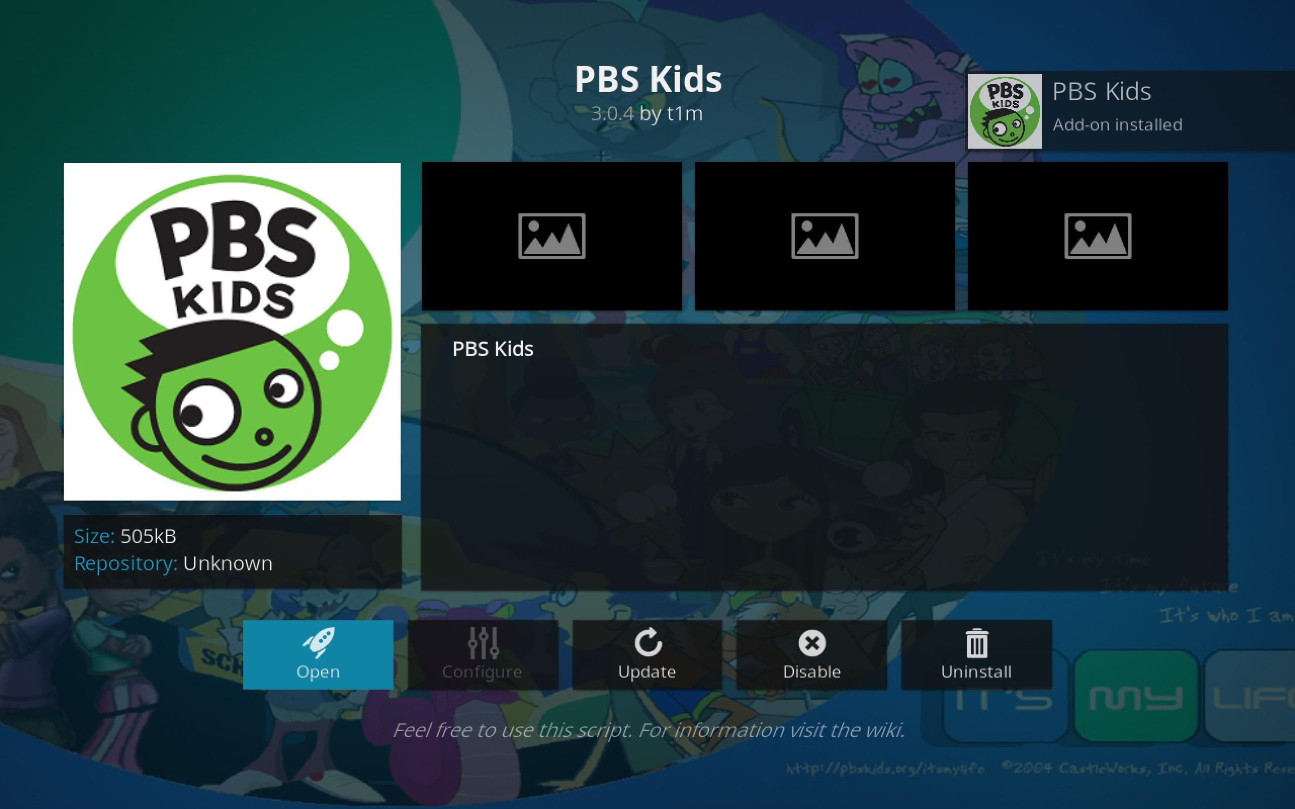 PBS Kids Add-on