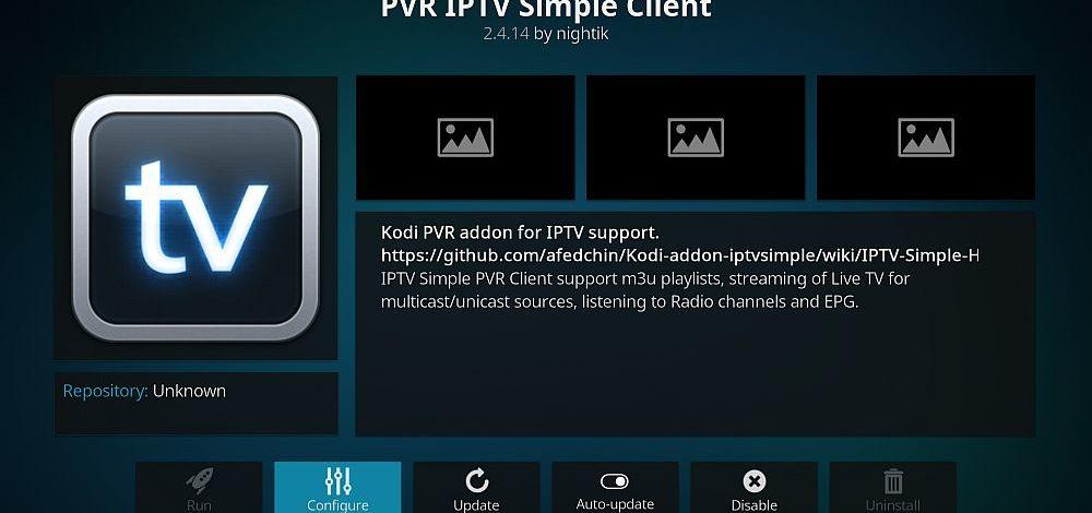 How to Setup PVR IPTV Simple Client on Kodi